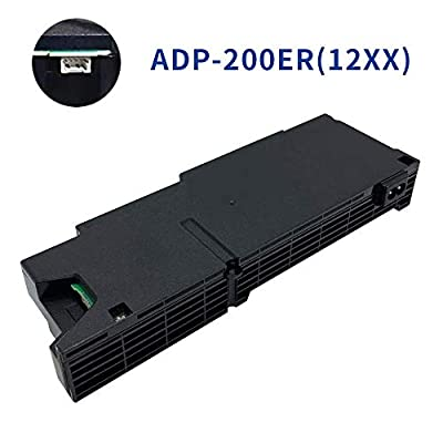 Colorgo Replacement Internal Power Supply ADP-200ER N14-200P1A for Sony Playstation 4 PS4 1215a 1215b CUH-1200 12XX 500GB (4 Pin)