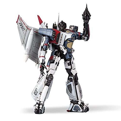 SUOTENG Transformers Toy, Generations War for Cybertron: Kingdom Core Class, Trumpeter SK02. Kit Intelligente, Robot Figura Azione, Assemblaggio Mobile Glue-Free Modello Jet Plane