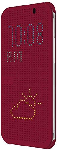 HTC 99H11642-00 Dot View Schutzhülle für HTC One E8 - Violett