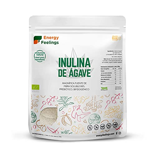 Energy Feelings   Inulina en Polvo BIO de Agave   Inulina...