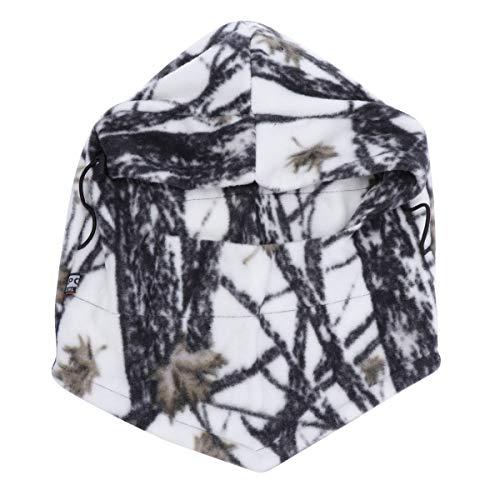 LIOOBO Chapeau d'hiver Visage Masque Polaire Balaclava Ski Masque Cou réchauffeur Hiver Masque vélo Chapeau Chaud Chapeau de Protection Chapeau pour Femmes Filles Camouflage