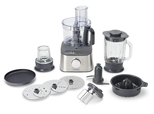 Kenwood FDM313SS Multipro Compact, 800 W, 2.1 Litri, Acciaio
