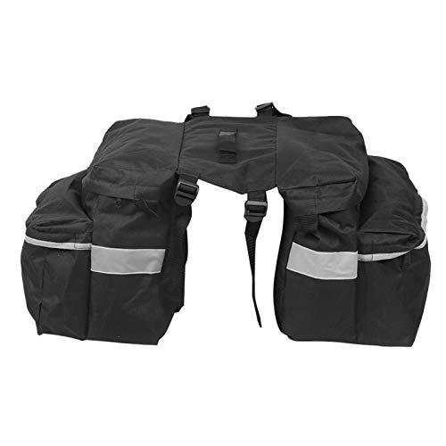 Bediffer Aufbewahrungstasche Satteltasche Stoßfeste Fahrradtasche Wasserdicht für Mopeds für Quad Bike für Motocross
