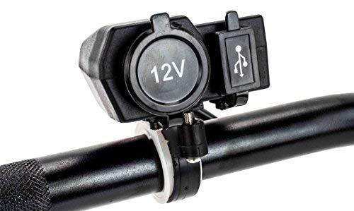 12V Motorrad Steckdose Zigarettenzünder/Euro Bordsteckdose und USB Ladegerät
