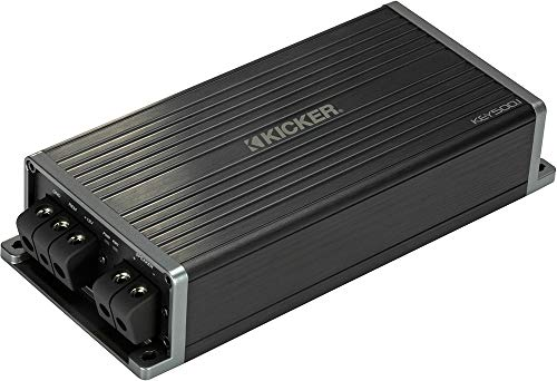 Kicker 47KEY5001 Car Audio Smart DSP Mono Sub Amplifier Easy Auto Setup Amp