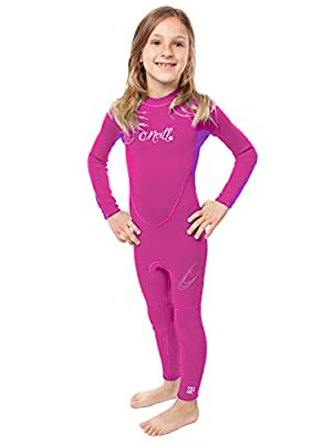 O'Neill Reactor Toddler Full Wetsuit Youth 1 Punk Pink/Ultraviolet (4629G)