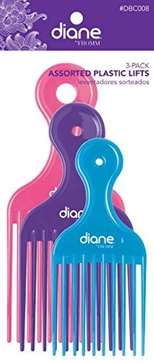 登山家規制する今後Diane Fromm Assorted Plastic Lifts 3 Pack [並行輸入品]