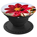 Perfect XR-Red Flower PopSockets Grip and Stand for Phones and Tablets
