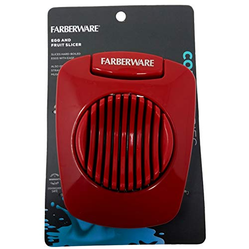 Farberware Egg Slicer Red