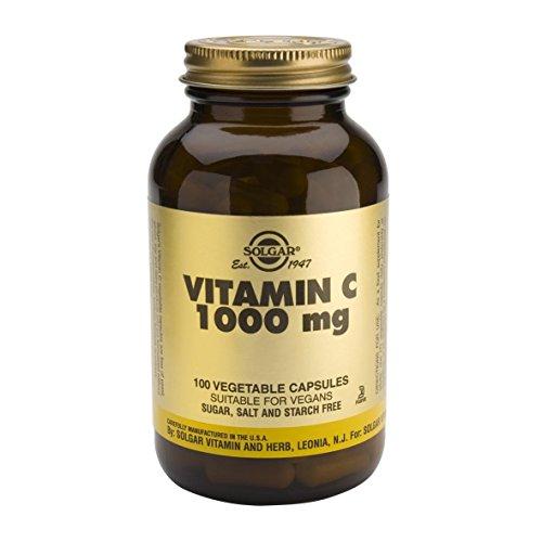 Solgar Vitamina C 1000 MG, 250 cápsulas Vegetales