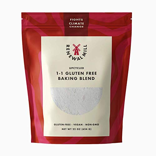Renewal Mill 1-to-1 Gluten Free Baking Flour I Excellent Source of Fiber, Good Source of Protein I Great for Baking I Upcycled Ingredient