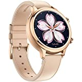 TicWatch C2-1 Smart Watch Classic Design Fashion smartwatch with All Day Heart Rate, GPS, NFC, Notifications and Alert, Compatible with Android and iOS ( Rose Gold)