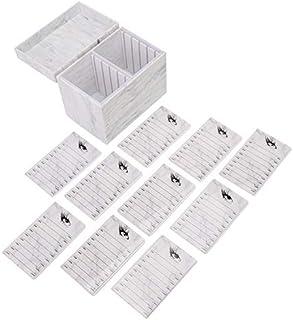Leyeet 10 lagen prachtige valse wimper opbergdoos enten wimper extensie doos organizer