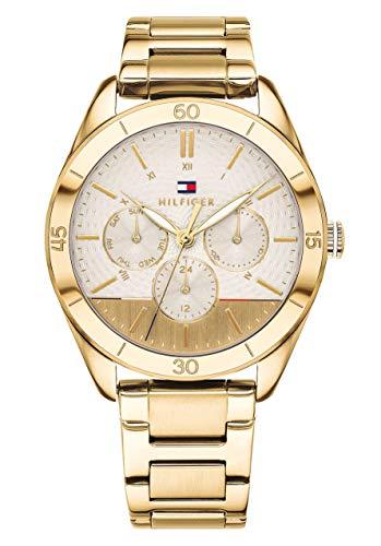 Tommy Hilfiger Reloj Multiesfera para Mujer de Cuarzo con Correa en Acero Inoxidable 1781883