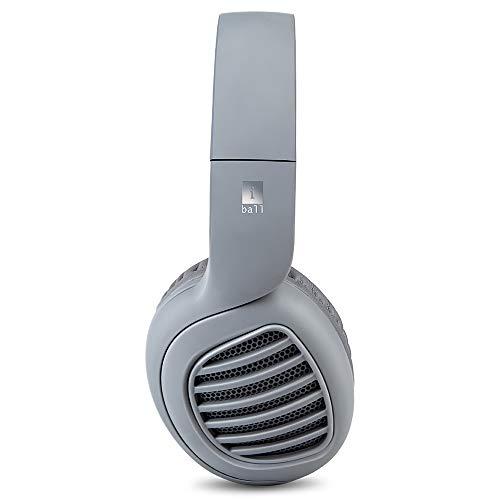 iBall Decibel Bluetooth 5.0 Headphone with SD/FM/Alexa Built-in (Slate Grey)