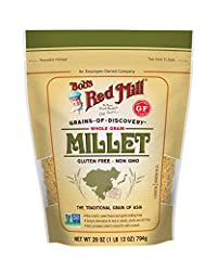 Whole grain millet Traditional grain of Asia High in fiber; gluten-free
