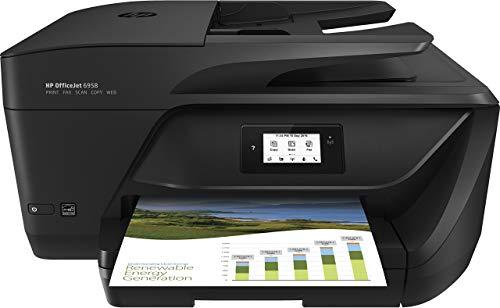 HP Officejet Pro 6958 All-in-One Color Inkjet Printer (Renewed)
