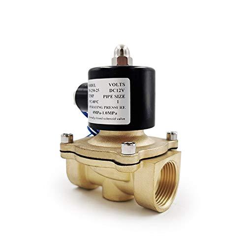 SHENYUAN Serie Industrial 1/4'3/8' 1/2'3/4' 1'Válvula solenoide eléctrica DN8 DN10 DN15 DN20 DN25 N/C Válvula neumática para Aceite de Aceite 12V / 24V / 220V / 110V
