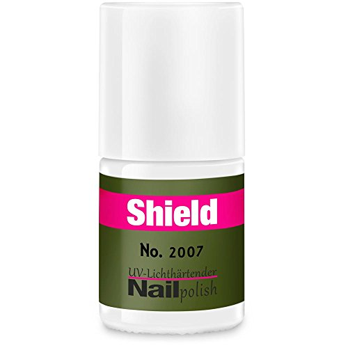 Gel-Lack - Shield Lack - LED & UV-Nagellack Khaki 2007