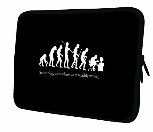 Luxburg® 15 Zoll Notebooktasche Laptoptasche Tasche aus Neopren Schutzhülle Sleeve für Laptop/Notebook Computer