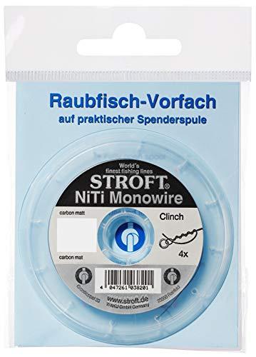 STROFT WAKU Vorfachschnur NiTi Monowire 3m, 0.40mm 20.0Kg