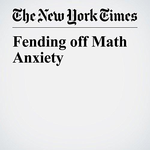 Fending off Math Anxiety copertina
