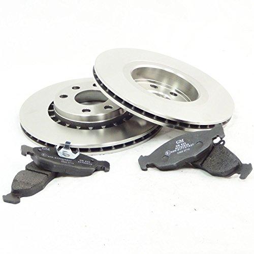 véritable Vauxhall Cavalier 1.6 1.8 17D 89–95 Disques de frein avant et ensemble de tampons