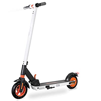 GoZheec Electric Scooter, KIRIN S1 Foldable E-Scooter, APP Control, 350W Motor High-Performance Battery, 8-inch Honeycomb Tire, Dual Braking System, Max Speed 16 Miles/H, for Adults and Teenagers