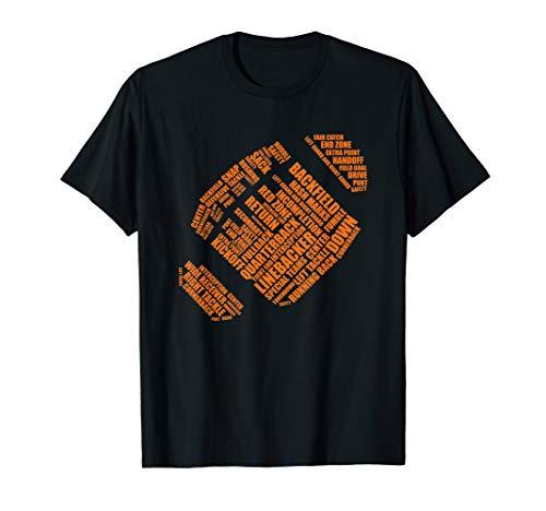 Word Cloud AMERICAN FOOTBALL T-Shirt