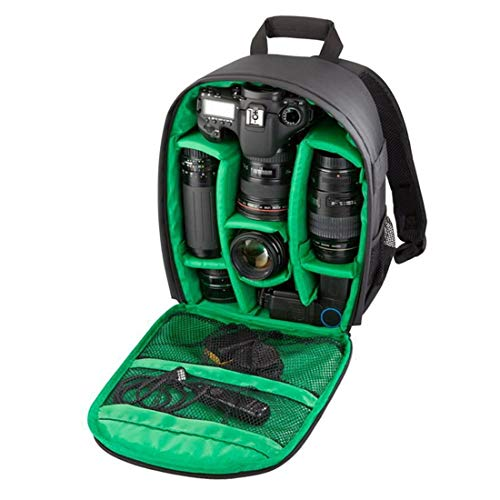 Xyamzhnn SLR cámara del teléfono del Bolso for GoPro, SJCAM, Nikon, Canon, Xiaomi Xiaoyi YI, iPad, Apple, Samsung, Huawei, Impermeable a Prueba de arañazos Deportes al Aire Libre Backpackage, Tamaño: