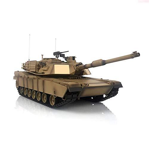 Henglong 1/16 6.0 Plastic M1A2 Abrams RTR Remote Control Tank 3918 BB Shooting Smoke Effect