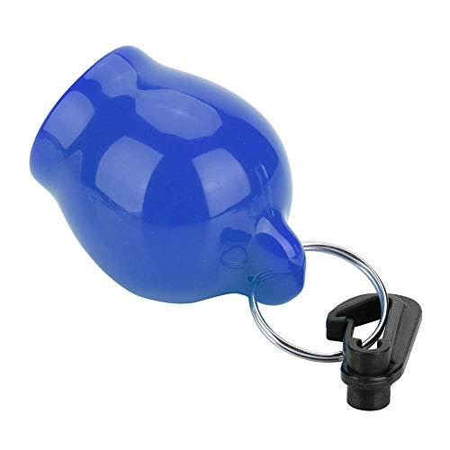 Gedourain Funda para Boquilla, con Clip a presión Funda de Silicona para Boquilla Material de Silicona Antipolvo Funda para Boquilla de Buceo Seguro Tamaño Libre para Buceo(Blue)