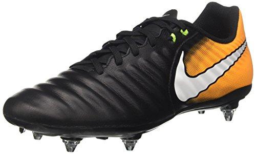 Nike Herren Tiempo Ligera IV SG Fußballschuhe, Schwarz (Black/White-Laser Orange-Volt), 44 EU