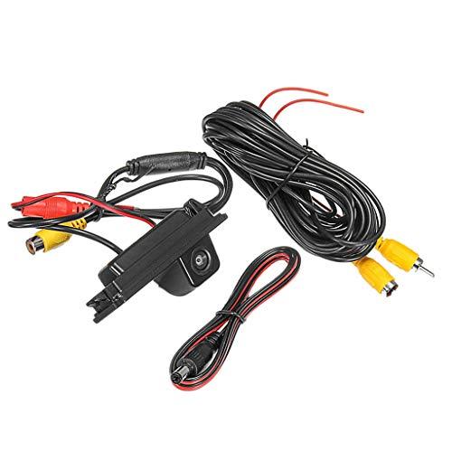 joyMerit Telecamera di Retromarcia per Retromarcia con Retrovisore Anteriore per Auto Posteriore Impermeabile