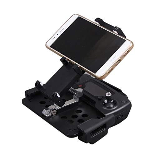 CUEYU Faltbarer Tablet Standhalter Extender für DJI Mavic Mini,Tablet Halterung Telefonhalter Faltbar für DJI Mavic Mini/Pro,Phantom 3 Professional,Phantom 3 Advanced Drone Fernbedienung (Schwarz)