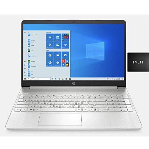 "HP 2021 Premium 15.6"" HD Touchscreen Laptop Computer, 2 Core Intel Core i3-1005G1 1.20 GHz, 8GB RAM, 256GB SSD, No DVD, Webcam, Bluetooth, Wi-Fi, HDMI, Win 10, TMLTT Mousepad"