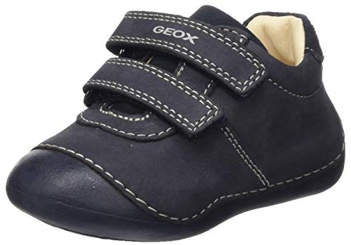 Geox Baby-Boys B Tutim First Walker Shoe,Blue,18 EU
