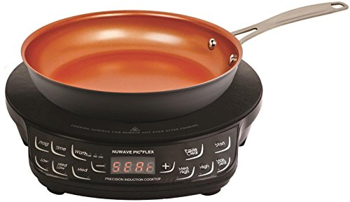 "NuWave Precision Induction Cooktop Flex with 9"" Fry Pan"
