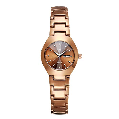 Quartz Watches for Women, Fashion Ladies Diamond Magnetic Buckle Bracelet Watches Waterproof for Swimming