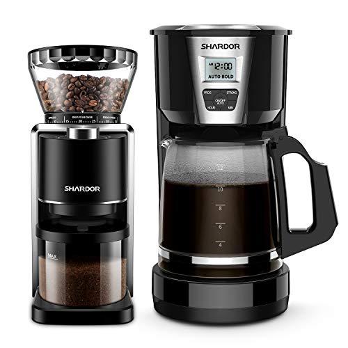 SHARDOR Conical Burr Coffee