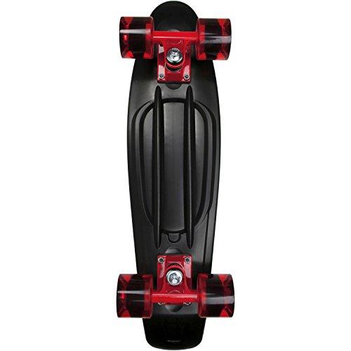 AREA Skateboard-Komplettset schwarz Einheitsgröße