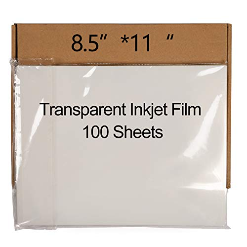 KINJOEK 100 hojas de papel para impresora de inyección de tinta de 20,5 x 11 pulgadas, resistente...