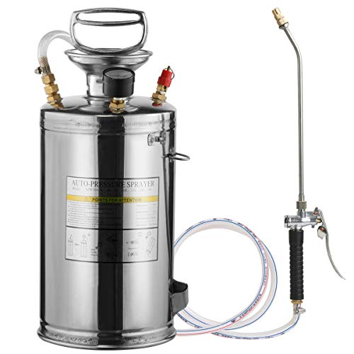 CLICIC Stainless Steel Sprayer Professional with Backpack