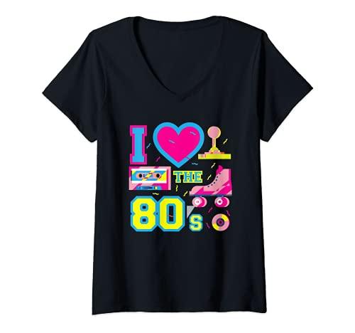 Mujer I Love Heart The 80