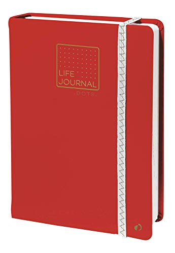 Quo Vadis 237110500NQ  TACCUINO 21 DOTS POINT ML Life Journal - 15x21cm - Elastico