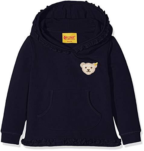 Steiff Steiff Baby-Mädchen Sweathirt 1/1 Arm Sweatshirt, Blau (Marine|Blue 3032), 74