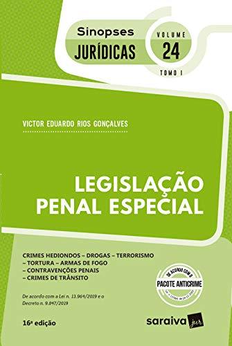 Sinopses - Legislação Penal Especial - Vol. 24 - Tomo I - 16ª Edição 2020