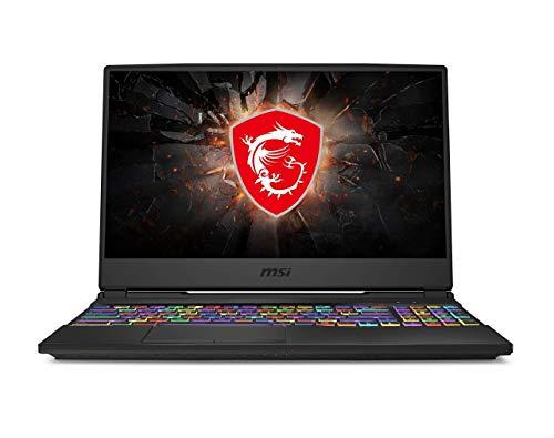 MSI Gaming GL65 9SCK-009IN Intel Core i7-9750H 9th Gen 15.6-inch Laptop (8GB/512GB NVMe SSD/Windows 10 Home/GTX 1650, 4GB Graphics/Black/2.3Kg) 9S7-16U412-009