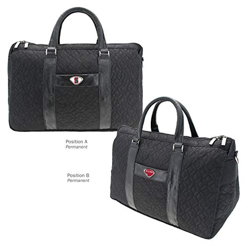 Buy Discount AdSpec NCAA Stanford Cardinal Collegiate Women's Duffel BagCollegiate Women's Duffel Bag, Black, One Size