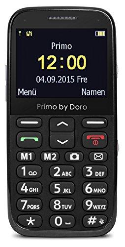 Primo 366 by Doro Großtastenhandy mit Tischladestation schwarz